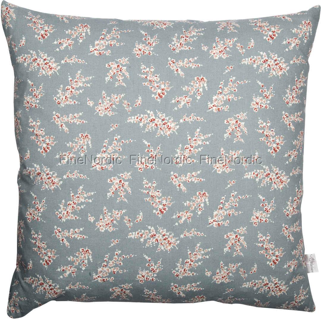 A u maison cushion wisteria dusty blue 50 x 50 cm for Au maison cushions uk