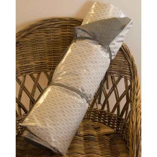 a u maison picnic blanket wisteria stripe turnable 70 x 180 cm