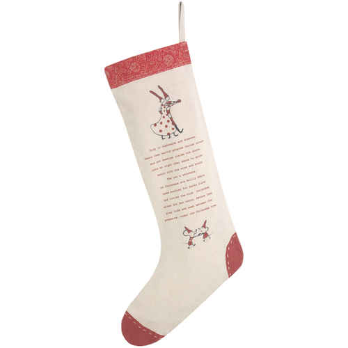 Maileg Christmas Stocking Santa Red
