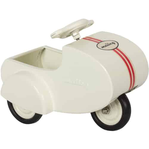 Maileg Rabbit Scooter with sidecar for Micro and MY